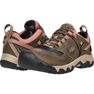 キーン KEEN レディース ハイキング・登山 シューズ・靴 Ridge Flex WP Timberwolf/Brick Dust