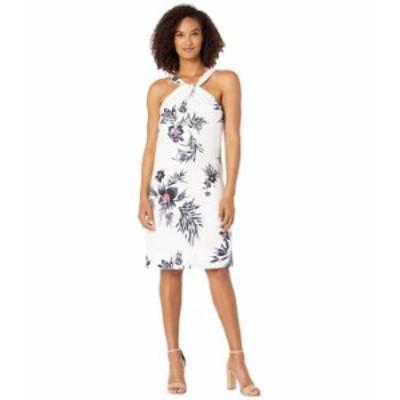 トッミーバハマ レディース ワンピース トップス Seraphine Floral Halter Dress White