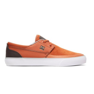 カジュアルシューズ ディーシーシューズ DC Shoes Wes Kremer 2 S Skate Shoes ADYS300241 BROWN/BROWN/GREEN