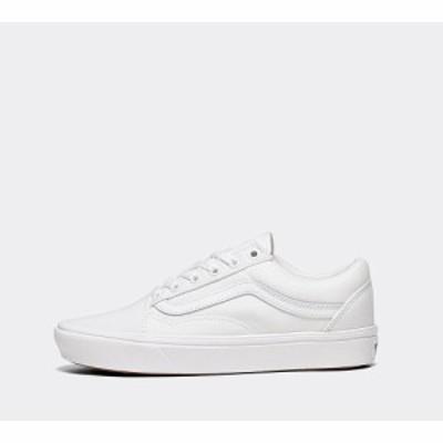 ヴァンズ Vans レディース スニーカー シューズ・靴 old skool comfycush trainer True White