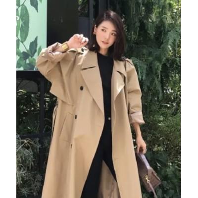KOR / ミドル丈トレンチコート WOMEN ジャケット/アウター > トレンチコート
