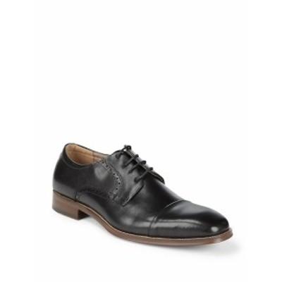 スティーブ マッデン メンズ シューズ オックスフォード 革靴 P-Crew Captoe Blucher Dress Shoes