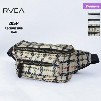 RVCA/ルーカ レディース ウエストバッグ ウエストポーチ かばん 鞄 アウトドア BA043-951
