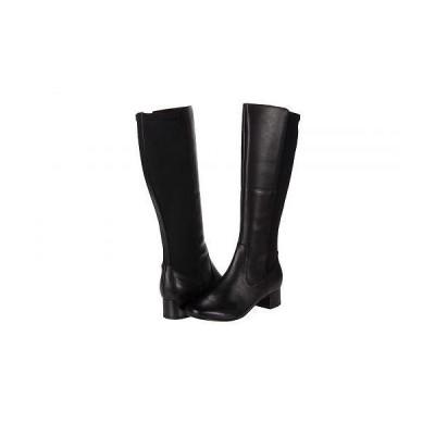 Clarks クラークス レディース 女性用 シューズ 靴 ブーツ ロングブーツ Marilyn Abby - Black Leather