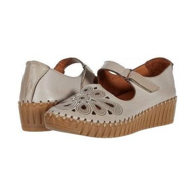 Spring Step スプリングステップ レディース 女性用 シューズ 靴 ヒール Amairani - Light Taupe