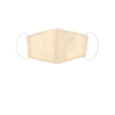 ノーブランド(NO BRAND)ライブ ファッションマスク レースシャンブレー FMS-0401C IV