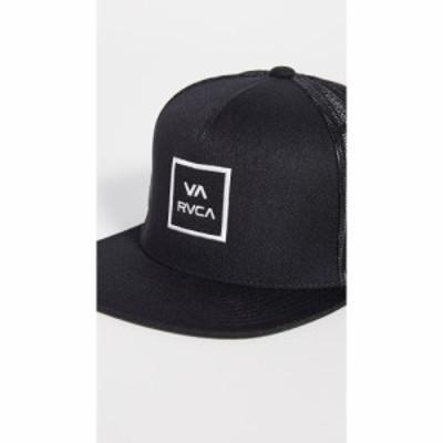 ルーカ RVCA メンズ キャップ 帽子 VA All The Way Truck Hat Black