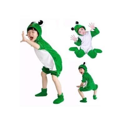 子供服クリスマスコスプレキッズ仮装動物衣装カエル男の子女の子長袖半袖サンタクロースサンタ着ぐるみパーティー発表会舞台