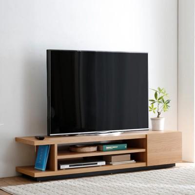 [幅150/幅180] テレビ台 ローテレビ台 木製 49V型対応 選べる幅 スタイリッシュ