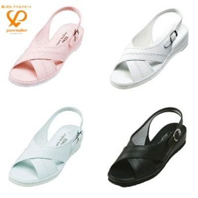 ◆◆■ <ダイマツ> 【ピュアウォーカー】pure walker  ベーシック レディース ナースシューズ 事務靴(pw7602-pur1)