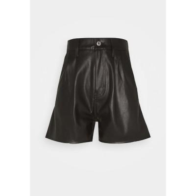 リーバイス カジュアルパンツ レディース ボトムス FAUX LEATHER - Leather trousers - leather night