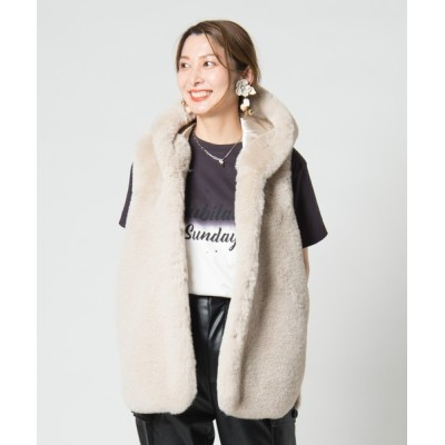 glamb / Radish fur vest / ラディッシュファーベスト WOMEN トップス > ベスト