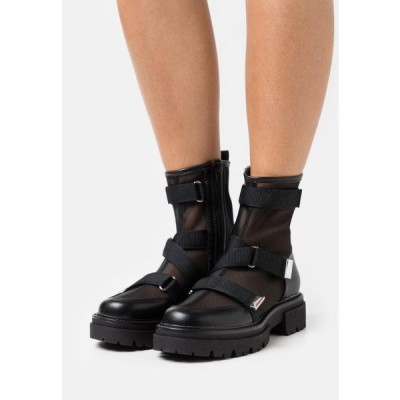 レディース 靴 シューズ Platform ankle boots - black