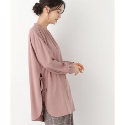 シャツ ブラウス サイドリボンシャツ長袖/898201