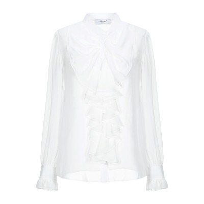 ブルーガール ブルマリン BLUGIRL BLUMARINE シャツ ホワイト 42 ポリエステル 100% シャツ