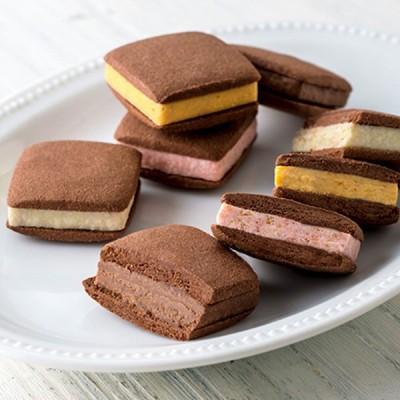 お取り寄せ グルメ ギフト 銀座千疋屋 焼きショコラサブレ 菓子 チョコ チョコレート サブレ スイーツ 洋菓子 送料無料