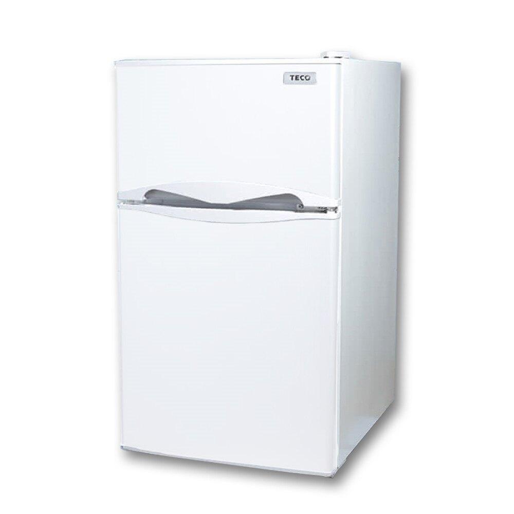 TECO東元  100公升雙門冰箱  R1001W