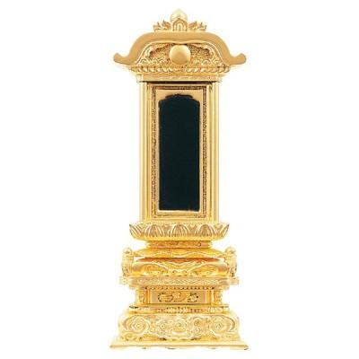 【期間限定クーポン&ポイント増量】塗位牌 三方金 京型柱付出高欄座 4.0寸 〜 7.0寸