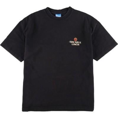 バカルディ BACARDI アドバタイジングTシャツ USA製 メンズXL /eaa148750