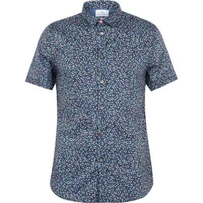 ポールスミス PS Paul Smith メンズ 半袖シャツ トップス Flower Print Short Sleeve Shirt Multi
