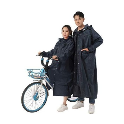 レインコート 自転車メンズ レディース Mviinfly レインポンチョ 原付用 ロング丈 レインウェア リュックにも対応 防風防水 耐久性豪雨 雨具 雨合羽 梅雨対策 男