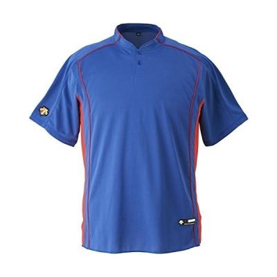 DESCENTE(デサント) DB-109B カラー:ROY サイズ:XA 2ボタンベースボールシャツ