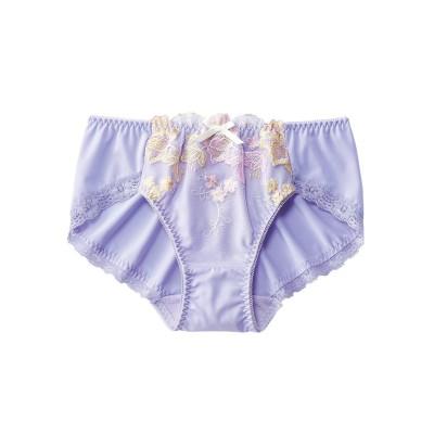 花刺しゅうレースストレッチショーツ(トリンプ)(LL) スタンダードショーツ, Panties