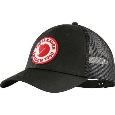 フェールラーベン Fjallraven ユニセックス キャップ 帽子 1960 Logo Langtradarkeps Cap Black
