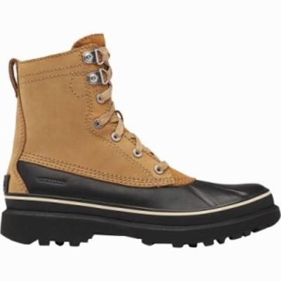 (取寄)ソレル メンズ カリブー ストーム WP ブーツ Sorel Men's Caribou Storm WP Boot Buff 送料無料