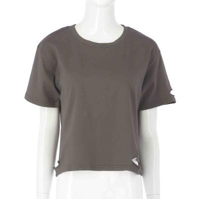 ANAP ダメージクロップドTシャツ(アッシュブラック)