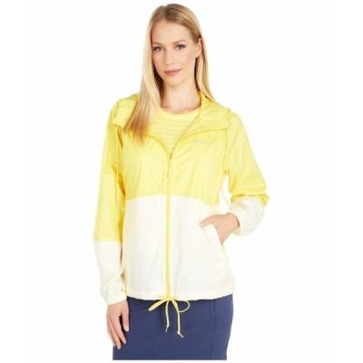 コロンビア コート アウター レディース Flash Forward Windbreaker Buttercup/Pale Yellow
