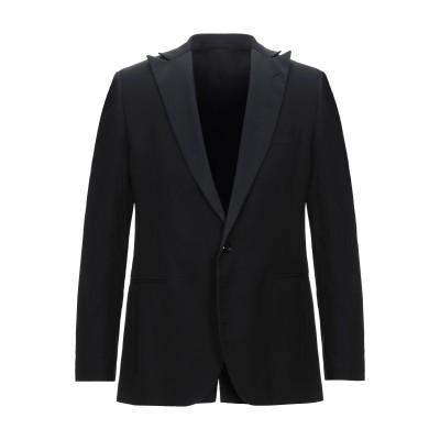 トラサルディ ジーンズ TRUSSARDI テーラードジャケット ブラック 50 レーヨン 65% / バージンウール 35% テーラードジャケット