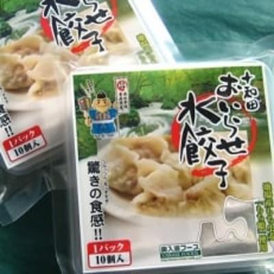 驚きの食感!十和田おいらせ水餃子 1パック(10個入り)×3