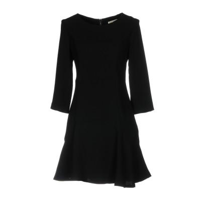 ガウディ GAUDÌ ミニワンピース&ドレス ブラック 42 ポリエステル 100% ミニワンピース&ドレス