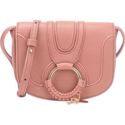 クロエ SEE BY CHLOE レディース ショルダーバッグ バッグ hana mini crossbody bag Pastel pink