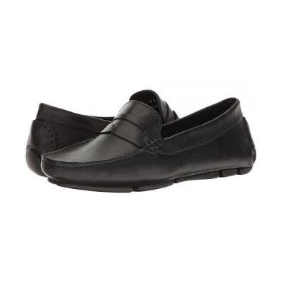 Massimo Matteo マッシオマッテオ レディース 女性用 シューズ 靴 ローファー ボートシューズ Penny Keeper - Black Bison
