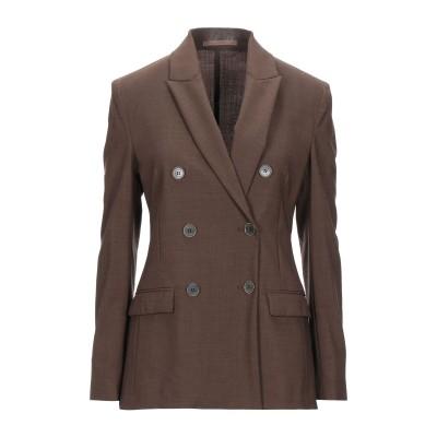 イレブンティ ELEVENTY テーラードジャケット ブラウン 44 ウール 96% / ポリウレタン 4% テーラードジャケット
