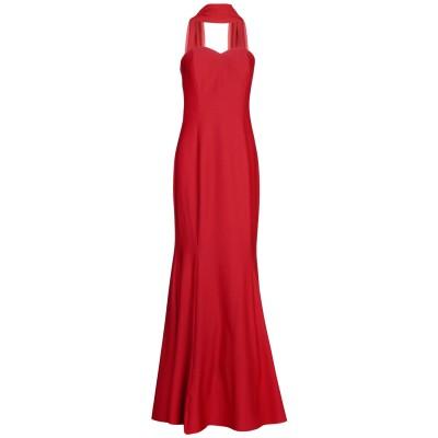 MUSANI GOLD ロングワンピース&ドレス ボルドー 42 ポリエステル 100% ロングワンピース&ドレス