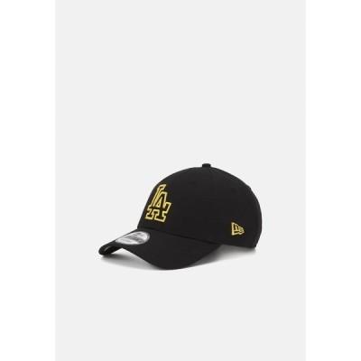 ニューエラ 帽子 メンズ アクセサリー LOGO 9FORTY UNISEX - Cap - black