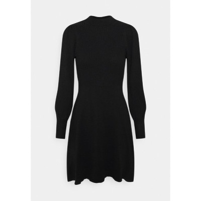オンリー ワンピース レディース トップス ONLYARA DRESS - Jumper dress - black