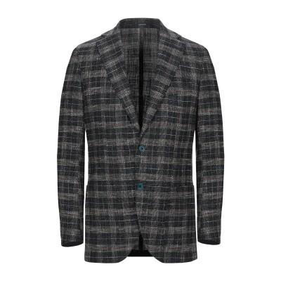 ROYAL ROW テーラードジャケット グリーン 48 バージンウール 36% / コットン 36% / アクリル 18% / ナイロン 10%