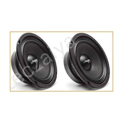 (2) Skar Audio FSX65-8 300-Watt 6.5-Inch 8 Ohm MID-Range Loudspeakers - 2 Speakers ((2) FSX65-8)並行輸入品