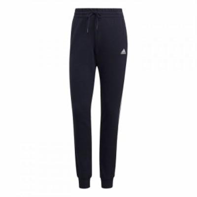 アディダス adidas レディース スキニー・スリム ボトムス・パンツ 3-Stripes Pants Slim Crew Navy