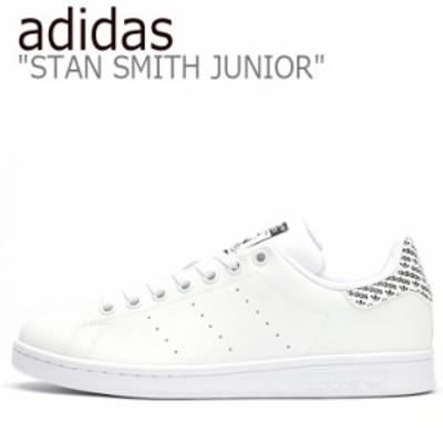 アディダス スニーカー adidas レディース STAN SMITH JUNIOR スタン スミス ジュニア BLACK ブラック WHITE ホワイト EG7438 シューズ