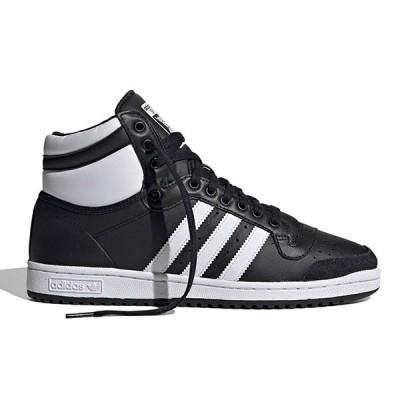adidas Originals (アディダス) トップテン ハイカット スニーカー シューズ Top Ten Hi Men's Black/White/Black バスケ バスケットボール HIPHOP ヒップホップ