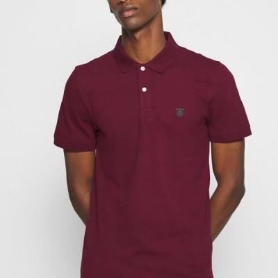 メンズ ファッション SLHARO EMBROIDERY - Polo shirt - port royale