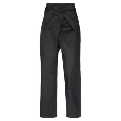 リビアナ コンティ LIVIANA CONTI パンツ ブラック 46 コットン 97% / ポリウレタン 3% パンツ