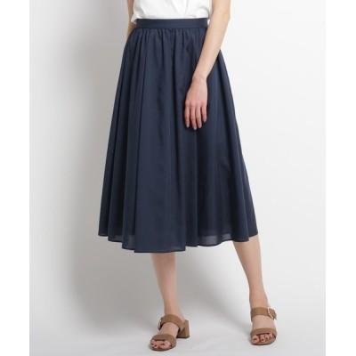 WORLD ONLINE STORE SELECT / 【洗える】ギャザータックフレアスカート WOMEN スカート > スカート