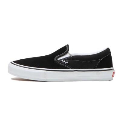 バンズ スケート スリップ オン ブラック/ホワイト メンズ/スニーカー