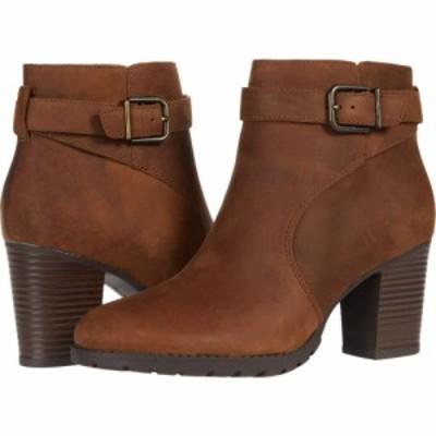 クラークス Clarks レディース シューズ・靴 Verona Lark Dark Tan Leather